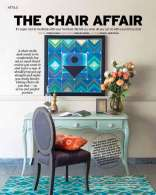 Good Homes Magazine November 2016, featuring our work 'Ankuran' serigraph by S.H Raza.